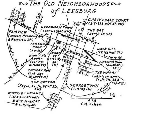 Old Names Reveal Leesburg Virginia's History and Lore