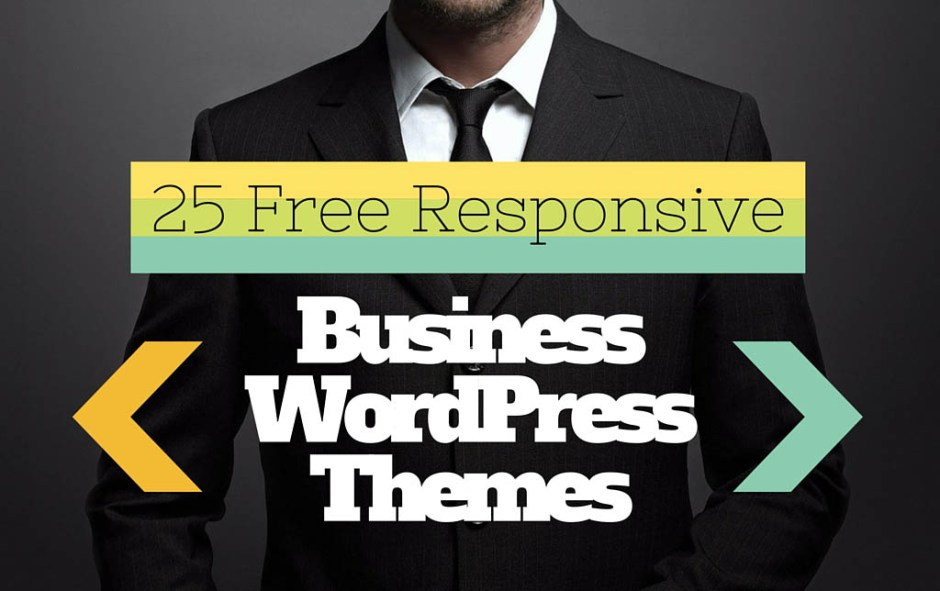 25 Free & Best Responsive WordPress Themes for Business