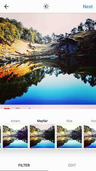 Use Filters for Instagram Photos