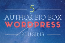 5 Best Author Bio Box Plugins For Your WordPress Blog