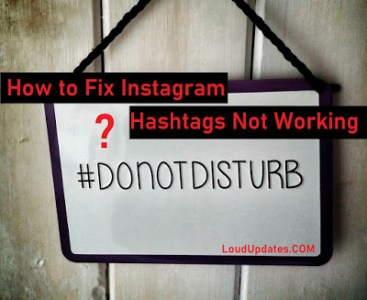 Hashtags Not Working