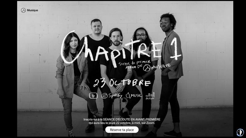 La Chappelle Music lancement album
