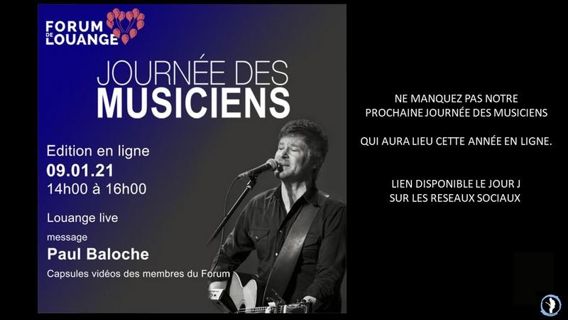 Journée des Musiciens 01-2021