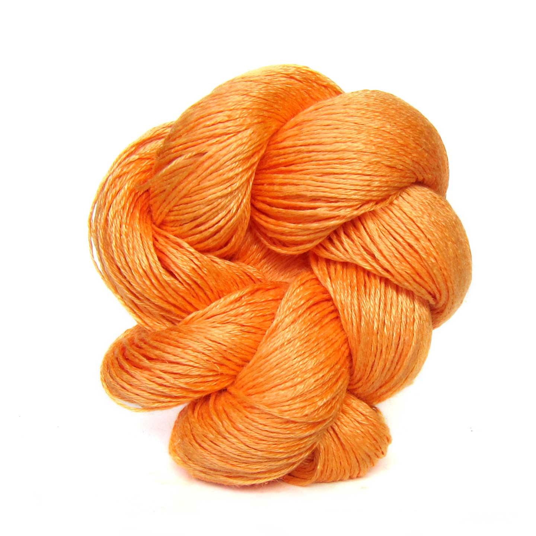 Tangerine Louet Euroflax Linen Yarn
