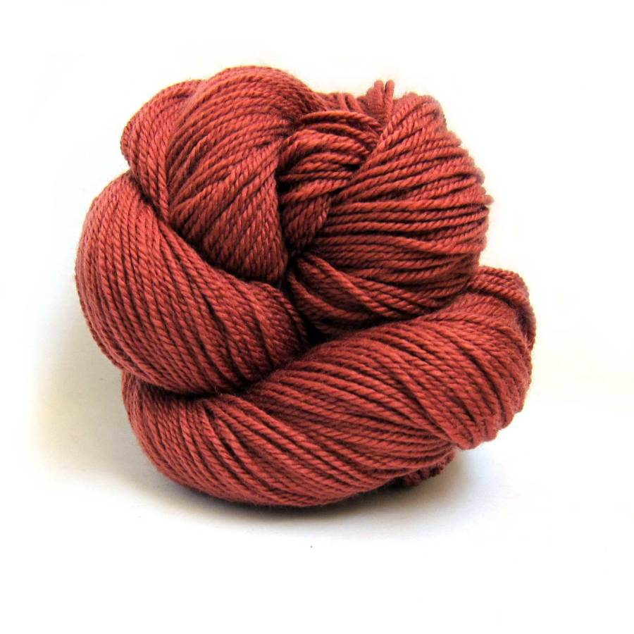 Brick Red Louet Gems 100% Merino Superwash Yarn