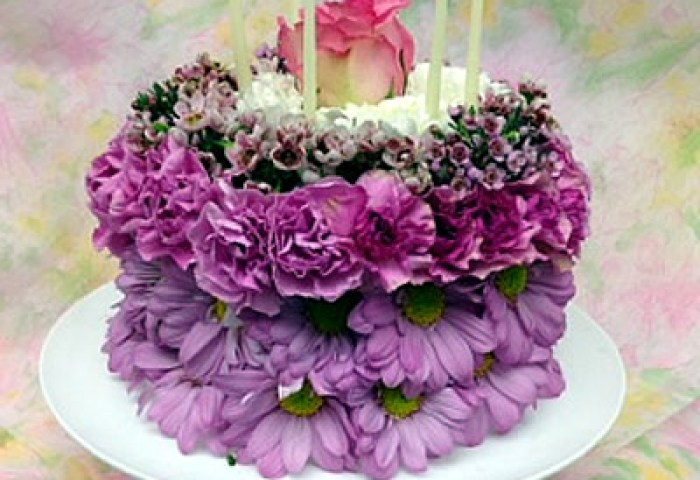Birthday Cake Bouquet Sudbury Flower Delivery L Lougheed Flowers L