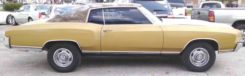 medium resolution of 1972 chevy el camino sold red brown cloth interior 350 v 8 auto a c am fm radio runs drives needs restored floor pan rust behind seat