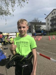 Louis Arnold -Sieger K1 Oberderdingen