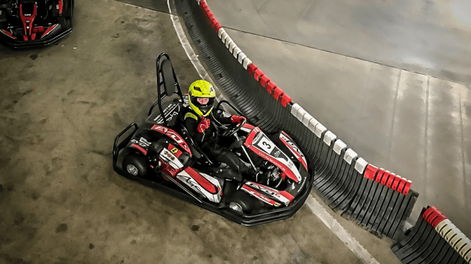 Louis Arnold zu Gast beim Michael Schumacher Kart Center in Kerpen
