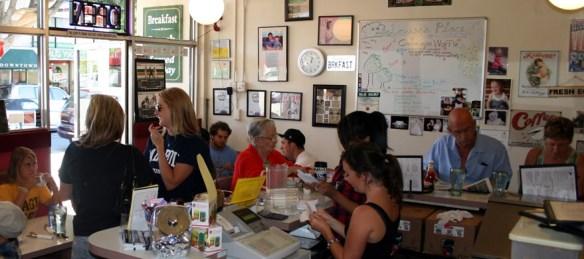 Louisa's Place Café Interior