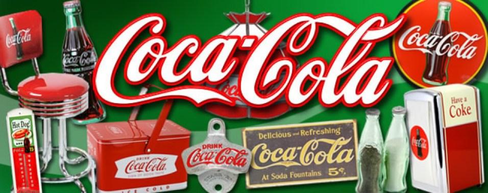 Coca-Cola vintage signs