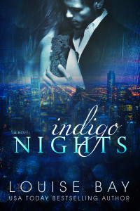 book cover for Indigo Nights by Louise Bay