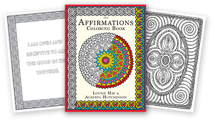 Coloring Book for Adults by Louise Hay