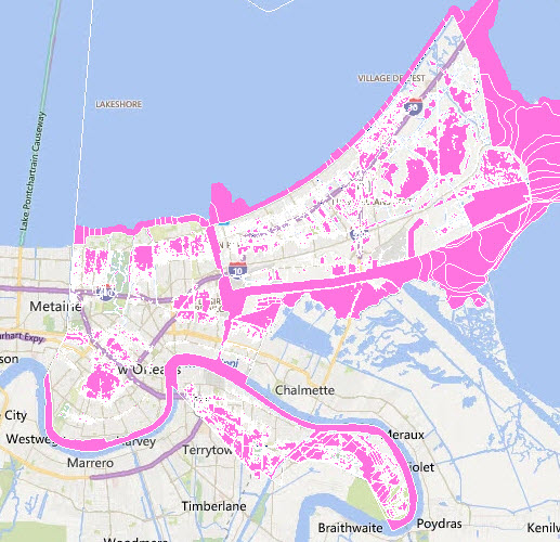 flood map new orleans