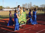 Hera-themed chariot