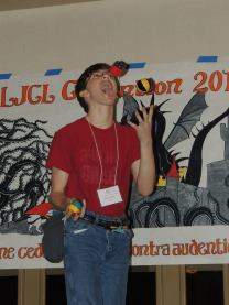 Juggling for talent show
