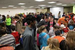 Speed School Student Council put on the event that brought in a large crowd.