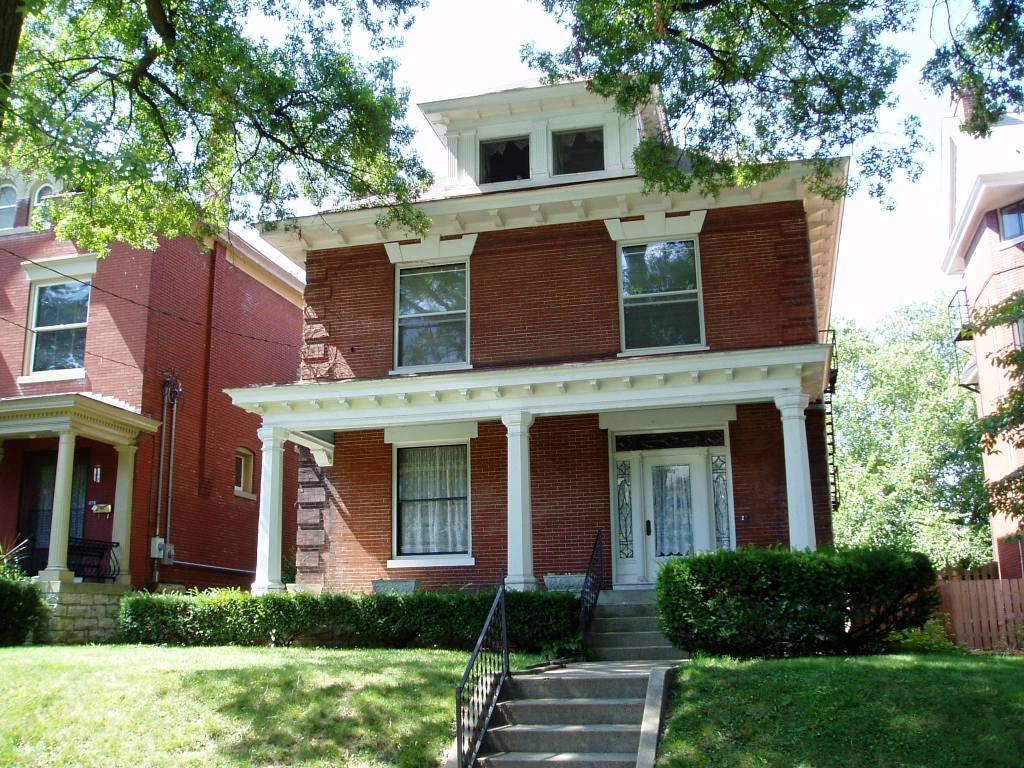 1272 Cherokee, Highlands   Louisville, Kentucky. Derby Home Rental.