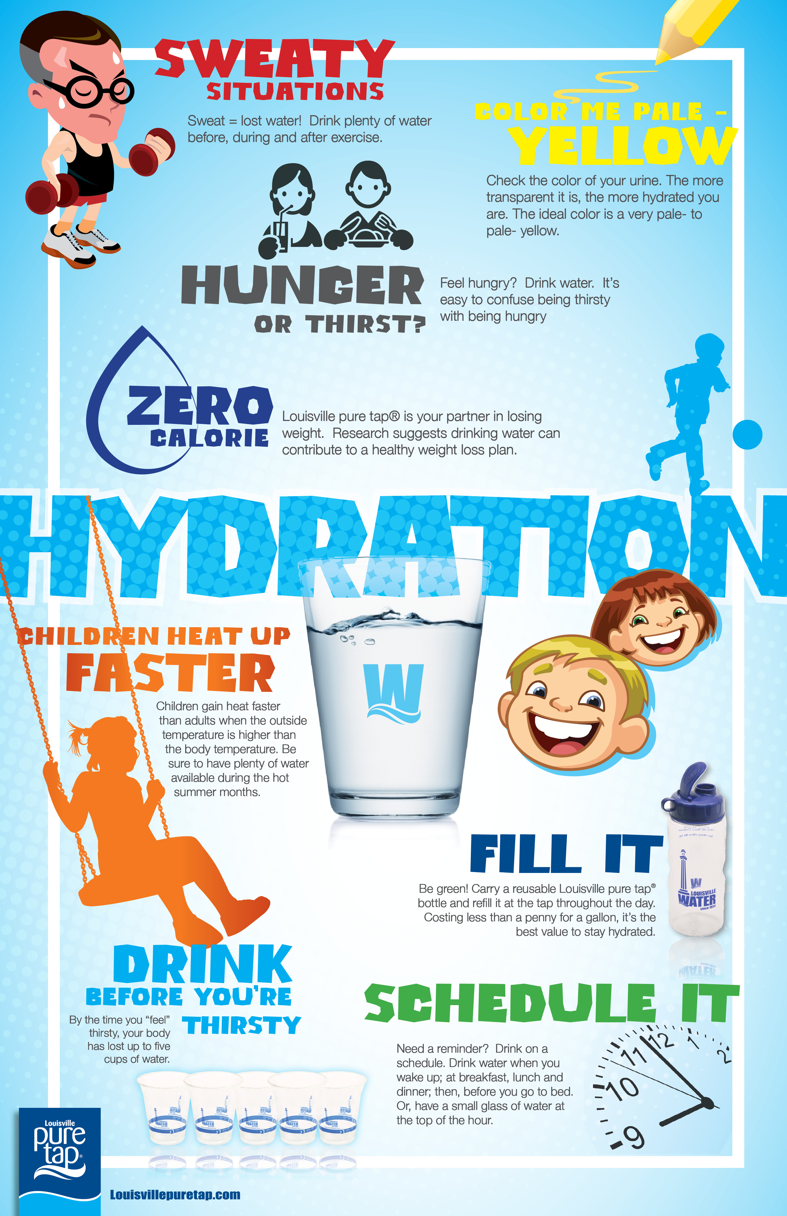 Stay Hydrated And Beat The Heat