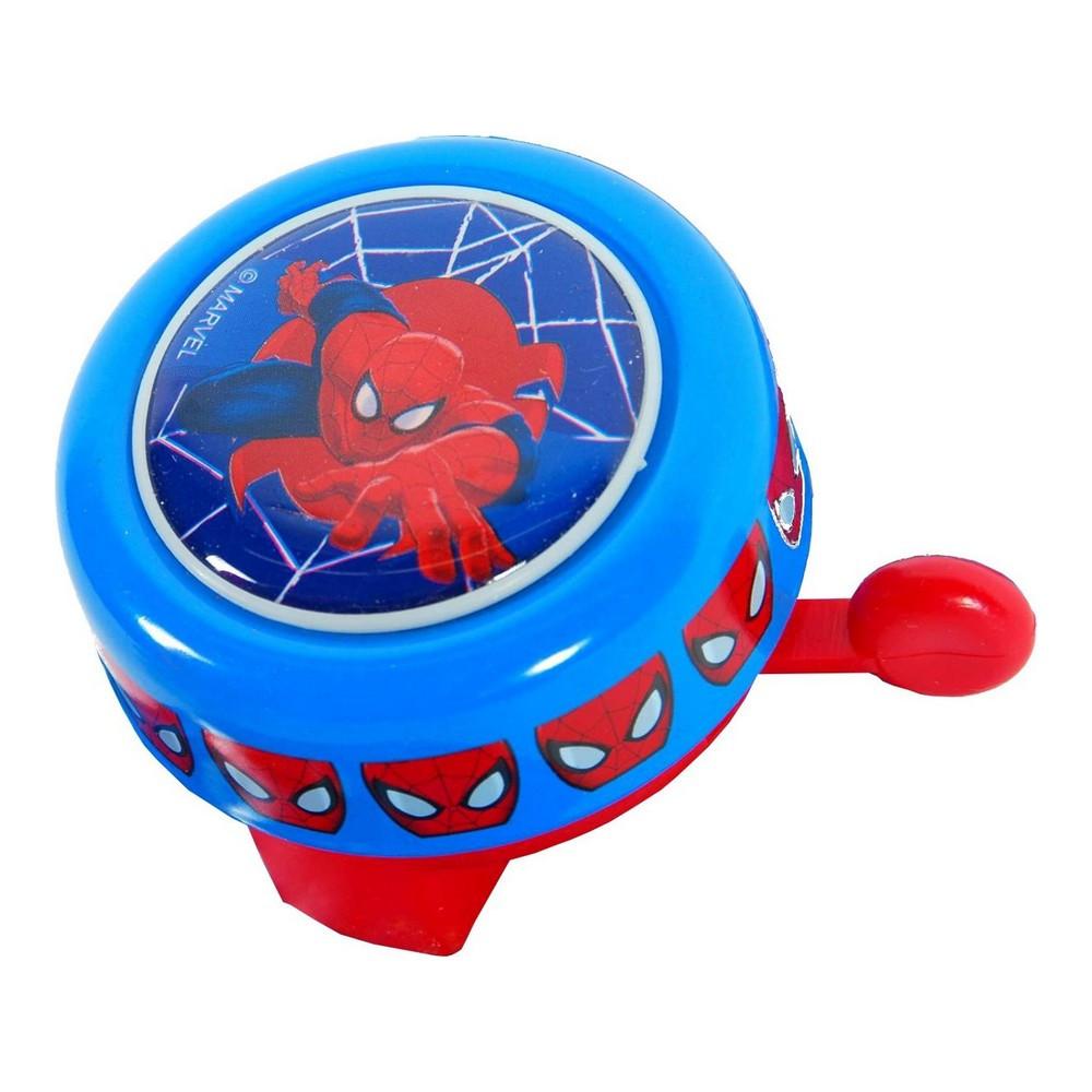 Sonnette metal ronde Spiderman velo enfant new  Accessoires vlos  Loulomax