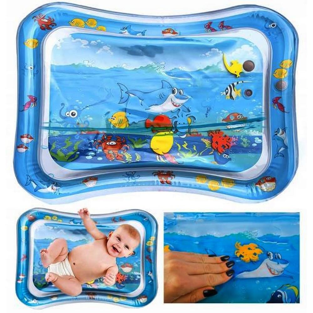tapis a eau gonflable jouet bebe eveil