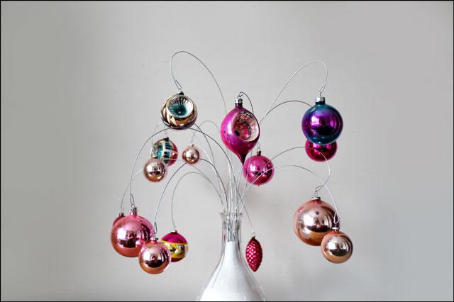 pink-vintage-ornaments-on-display