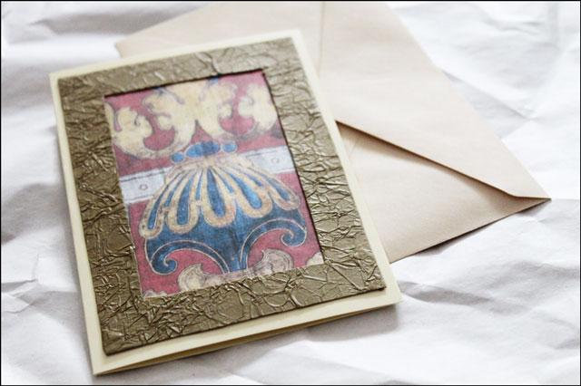 handmade-card-using-repurposed materials