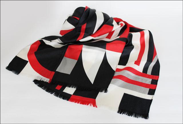 thrifted-lauren-by-ralph-lauren silk scarf