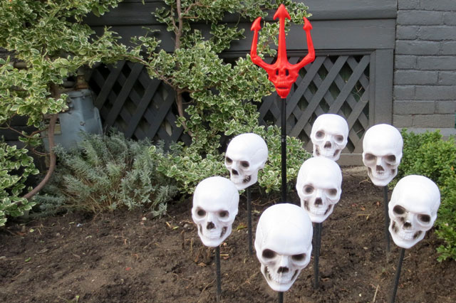 skulls-on-a-front-lawn-halloween