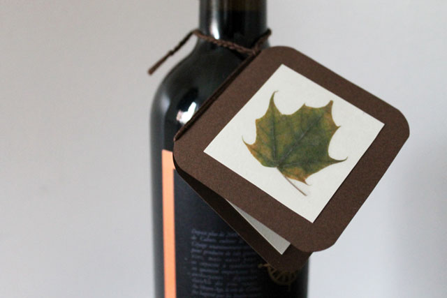 handmade-giftcard-with-pressed-leaf