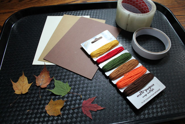 supplies-to-make-things-with-pressed-leaves
