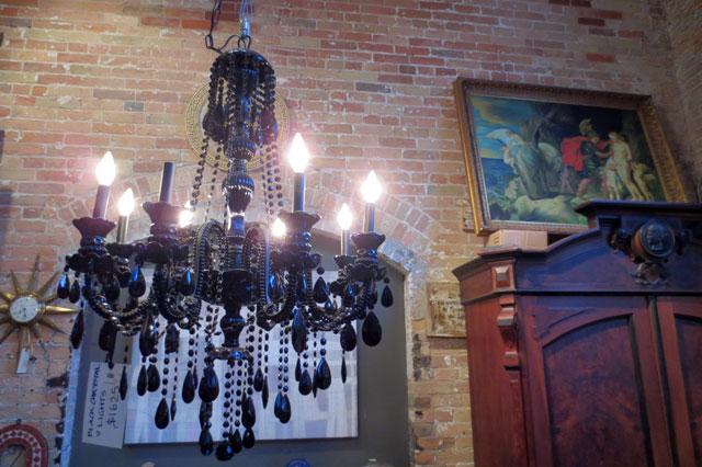 black-chandelier