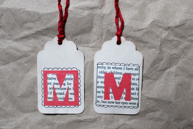 handmade-initial-gift-tags-book-page