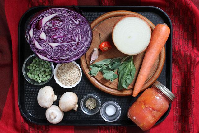 ingredients-cabbage-vegetable-soup