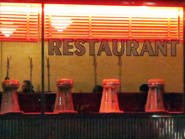 lakeview diner window