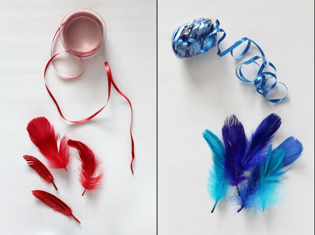 diy-feather-gift-decorations