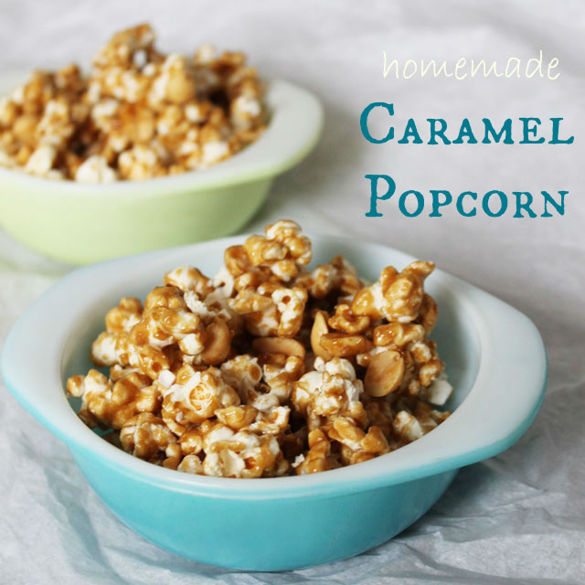 Homemade Caramel Popcorn Loulou Downtown