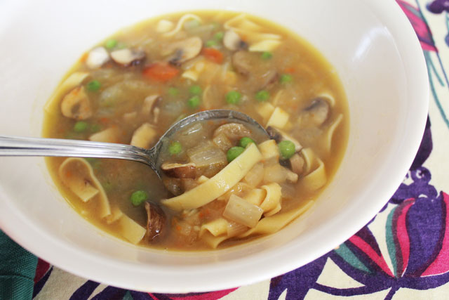 homemade-vegetable-soup-made-with-roasted-veggies