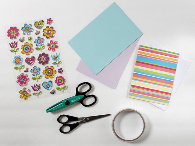 card-making-supplies-to-make-an-easy-greeting-card