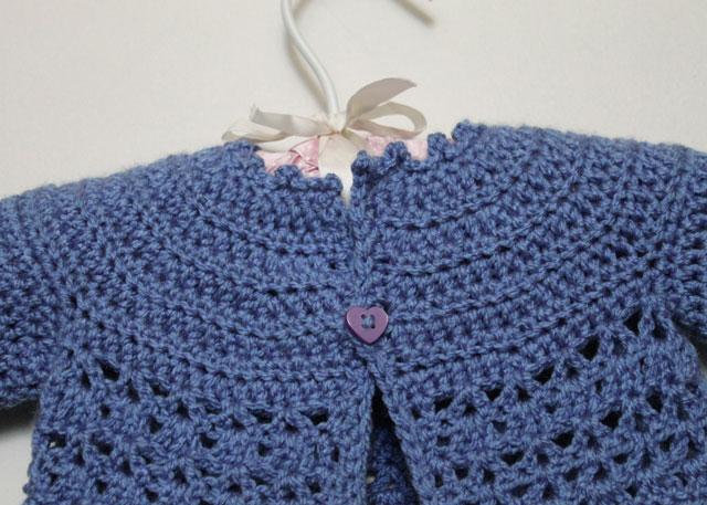 crochet-baby-sweater-detail