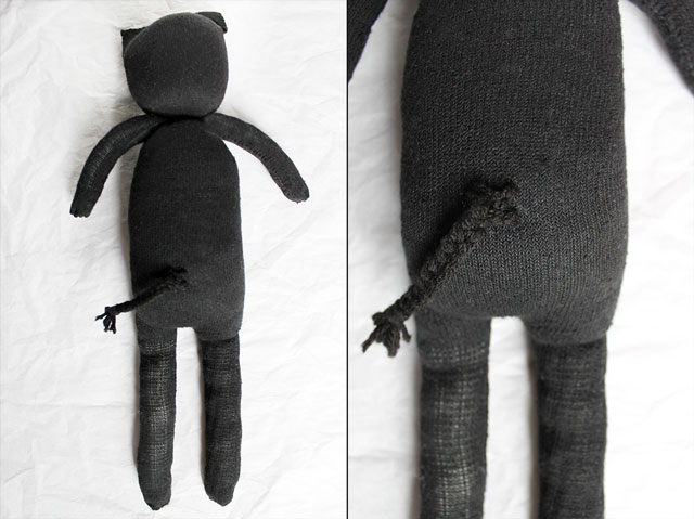back-of-diy-cat-doll-made-from-a-pair-of-socks