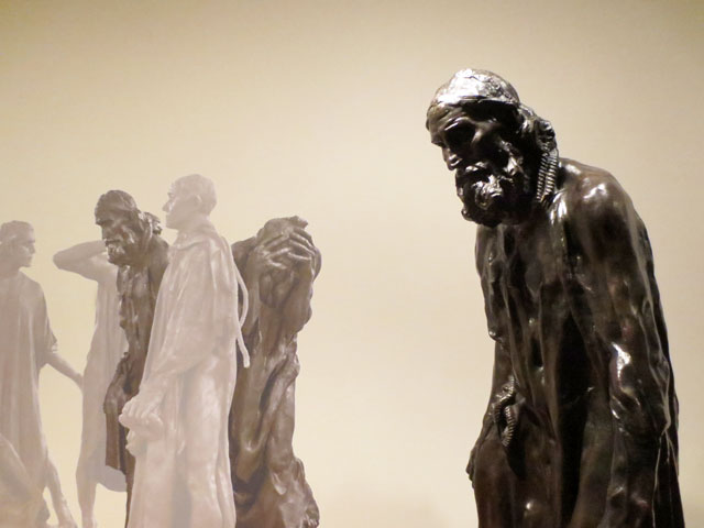 bronze-statue-from-burghers-of-calais-at-art-gallery-of-ontario-ago-january-2015