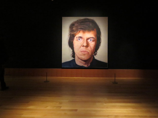 kent-a-painting-by-chuck-close-at-the-ago-art-gallery-on-Ontario