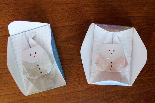 getting-origami-rabbits-ready-to-mail