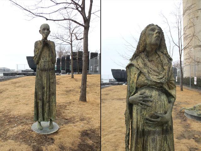 sculptures-in-ireland-park-toronto