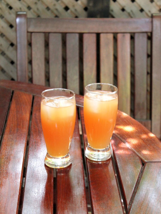 rum-cocktails-made-with-iced-tea-fruit-juice-and-limoncello-liqueur