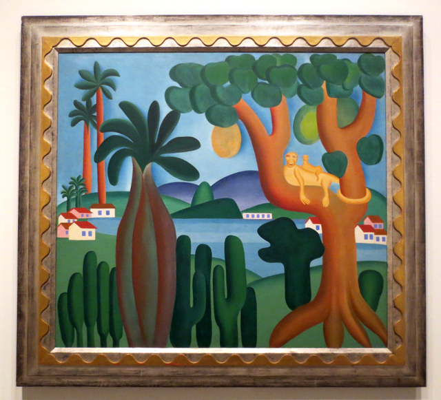 cartao-postal-by-tarsila-do-amaral-at-art-gallery-of-ontario-toronto-picturing-the-americas-exhibit