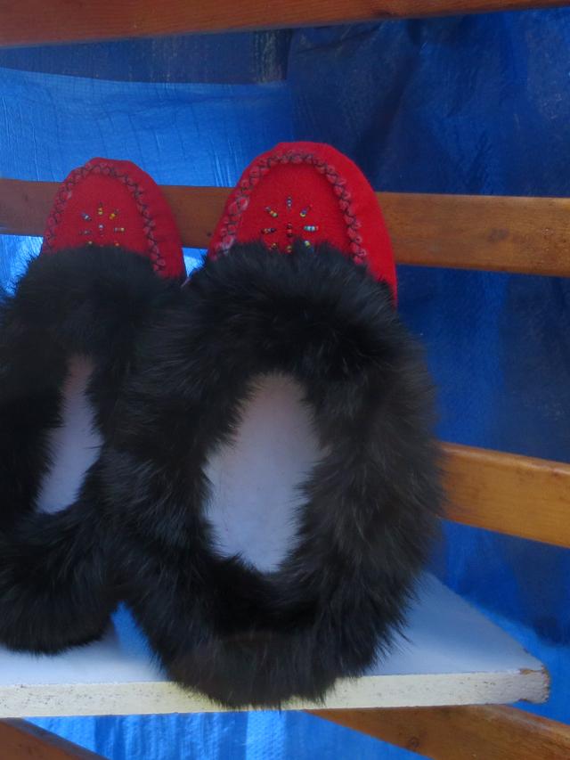 moccasins-at-aboriginal-pavilion-toronto