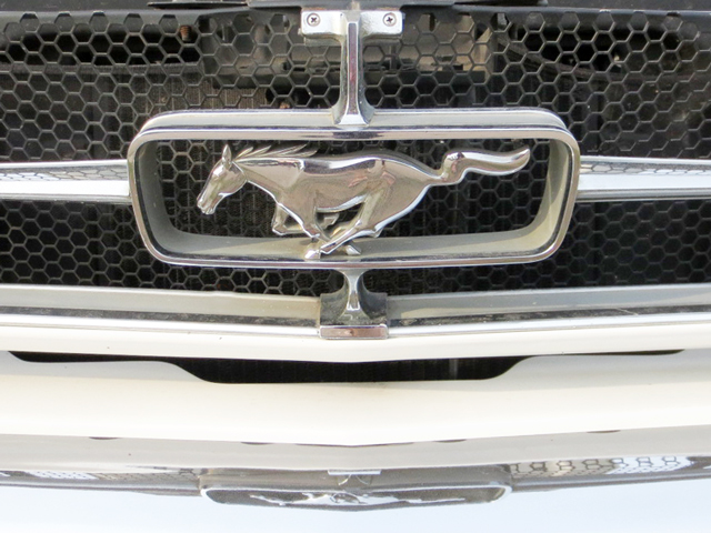 vintage-mustang-grill