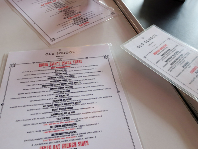 menus-at-old-school-restaurant